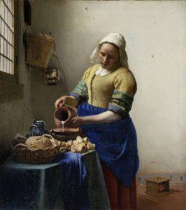 melkmeisje van vermeer