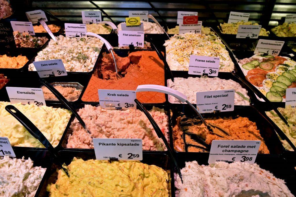 overheerlijke versbereide salades
