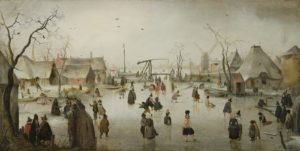 ijspret-in-Holland-Hendrick-Avercamp-1610