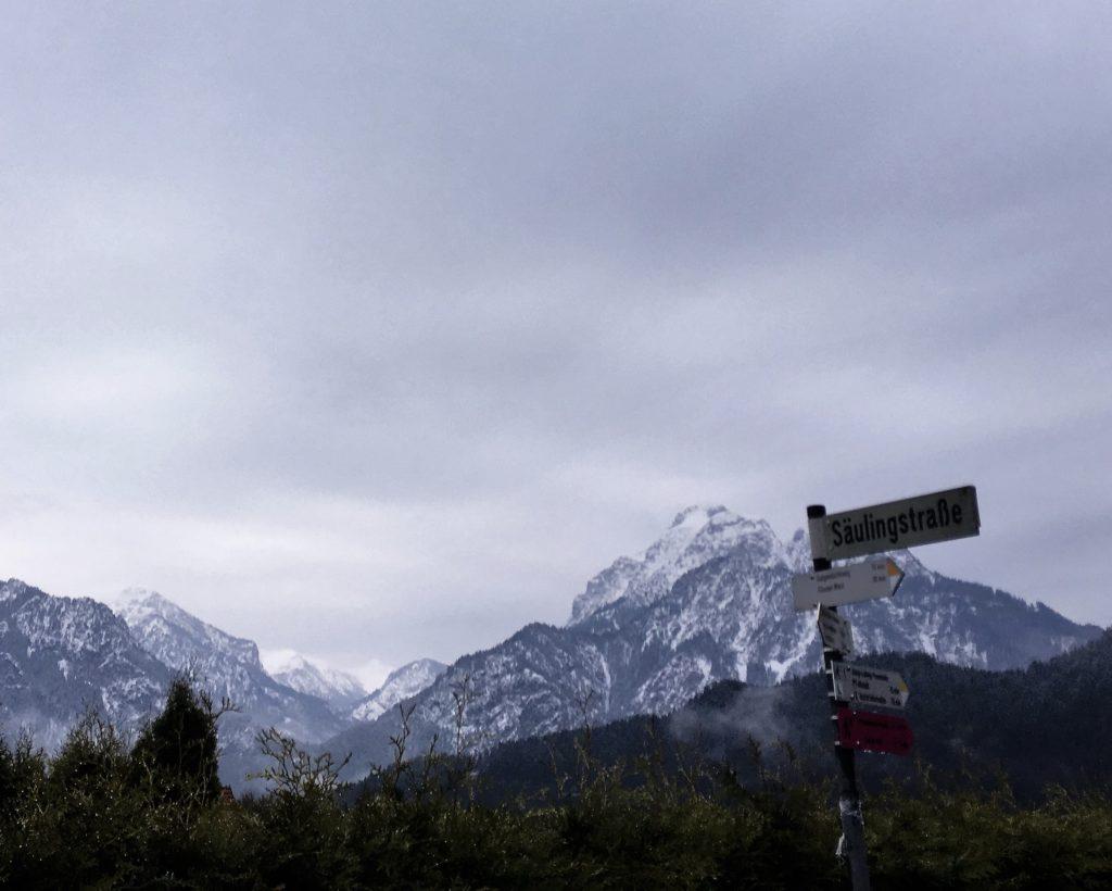 besneeuwde Alpentoppen
